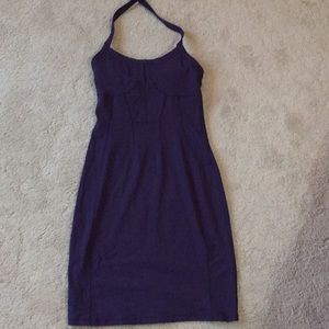 Athleta small tall purple halter sundress